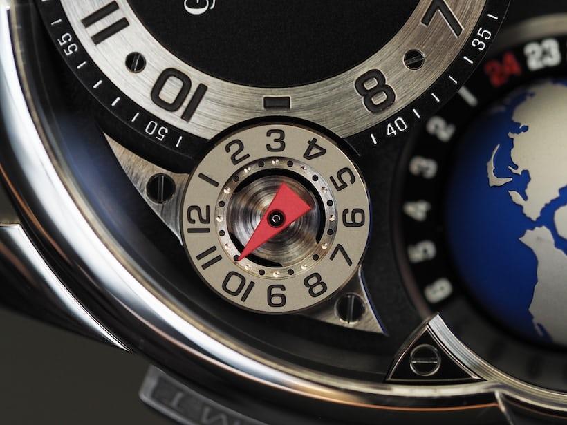 Greubel Forsey GMT hand