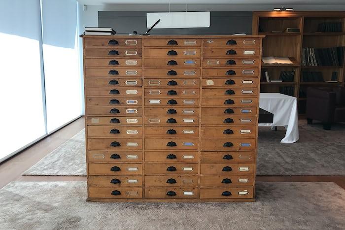 minerva vintage wooden cabinet
