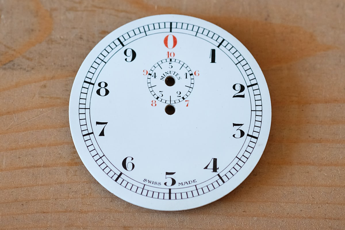 minerva five minute timer dial