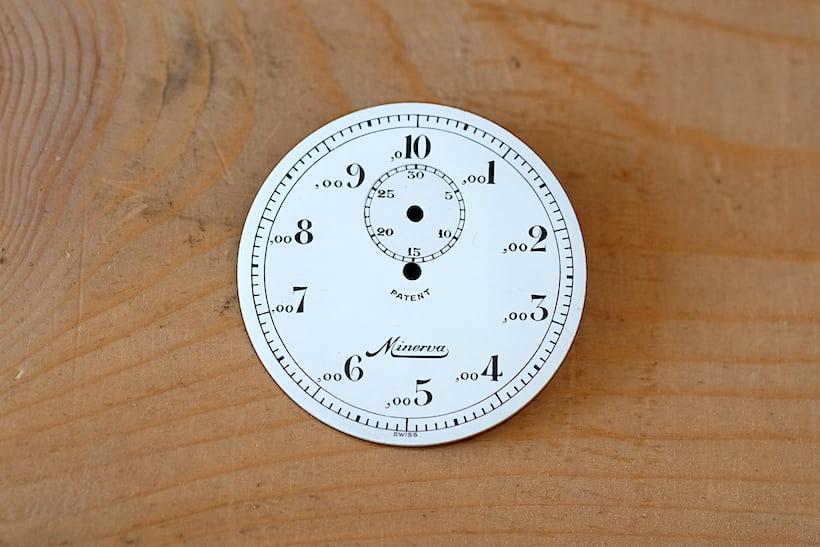 decimal timing dial minerva