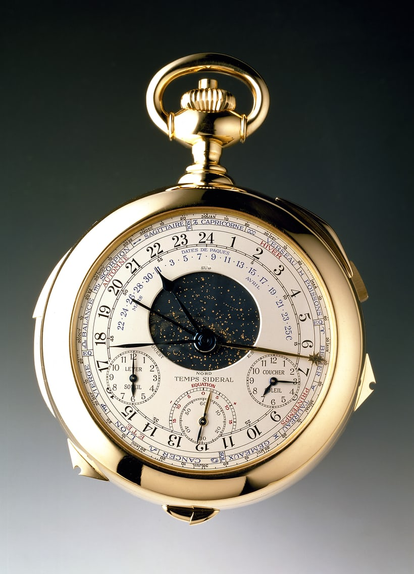 Patek Philippe Caliber 89 astronomical indications