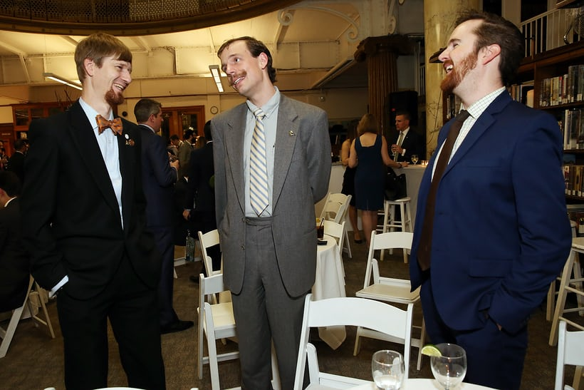 Jordan Ficklin, Justin Shellenberger and Nathan Bobinchak