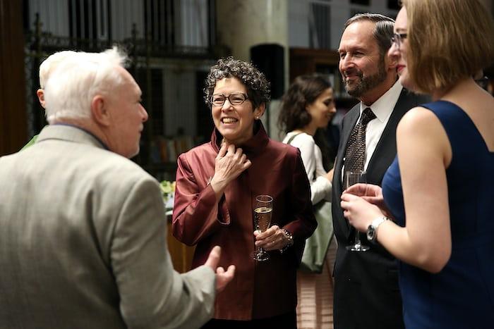 Karen Ripley (HSNY Trustee) and Ed Hydeman (HSNY Past President)