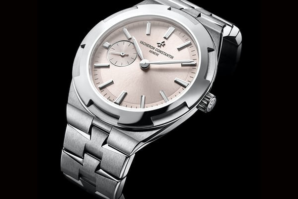 vacheron constantin overseas 37mm with rose dial