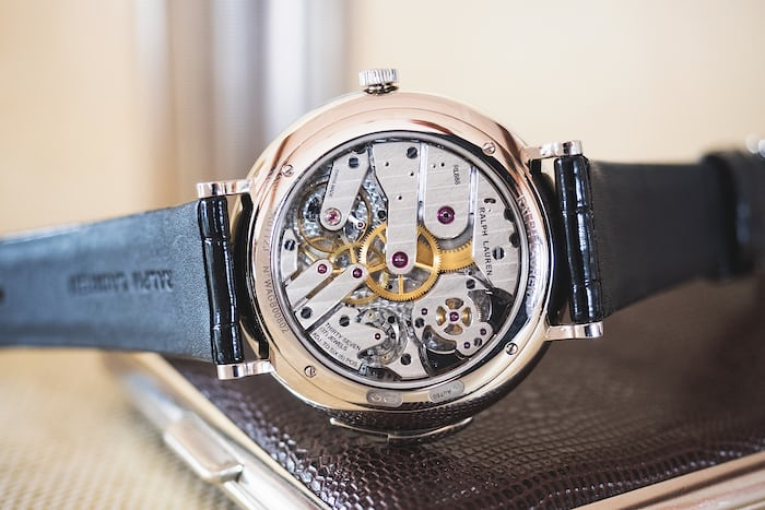Ralph Lauren Minute Repeater Caliber RL888