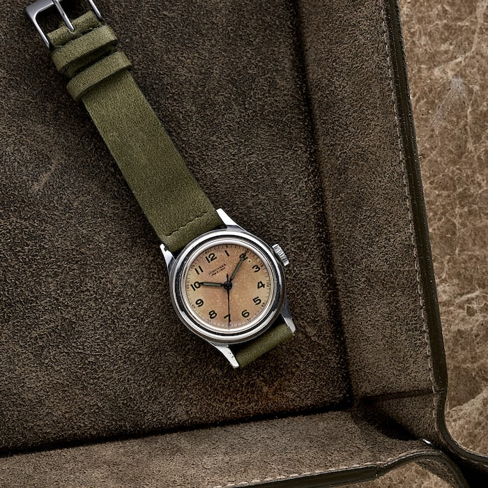 1940s Longines Reference 5774 for the Marine Nationale