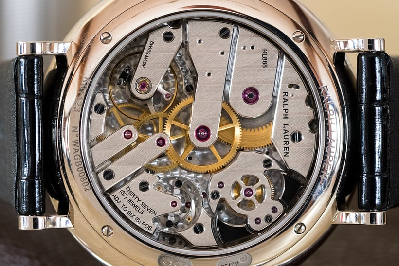 Caliber RL888 Ralph Lauren Minute Repeater