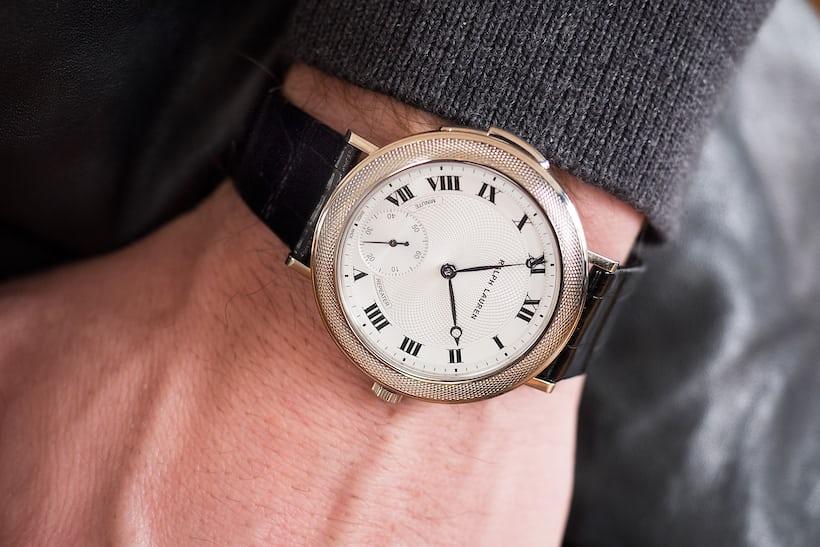 Ralph Lauren Minute Repeater wrist shot