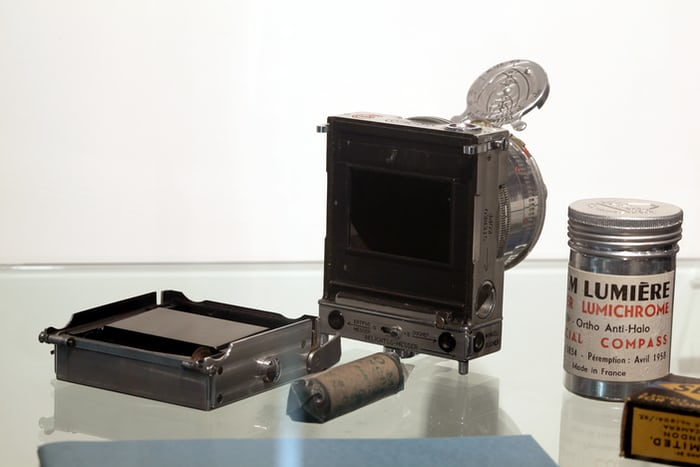 Compass Camera roll film back