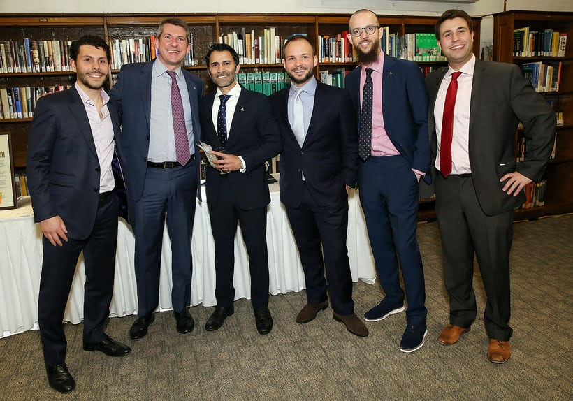 Brett Walsdorf, John Reardon, Ravi Telidevara, Michael Groffenberger, Nicholas Manousos, Michael Fossner