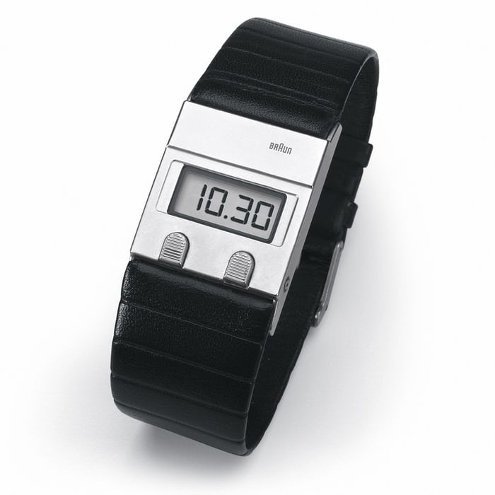 Braun DW 30 wristwatch