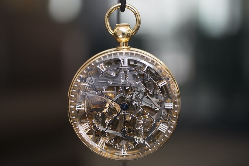 The Breguet Number 1160 Marie-Antoinette replica.