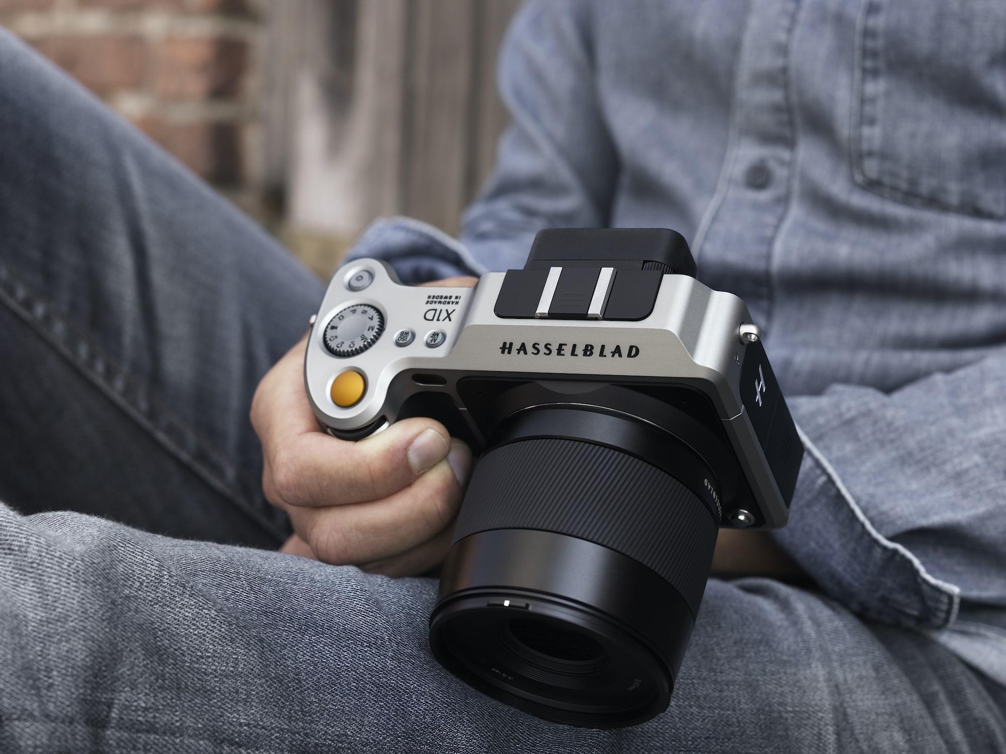 Hasselblad X1D-50c hand held