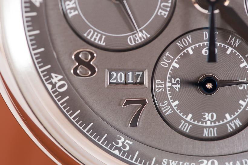 Da Vinci Perpetual Calendar Chronograph 4 digit year counter