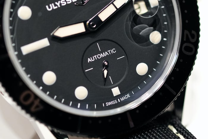 Ulysse Nardin Diver Le Locle seconds subdial