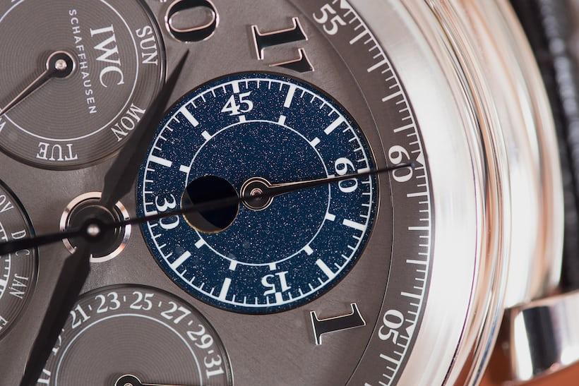 Da Vinci Perpetual Calendar Chronograph moonphase disk