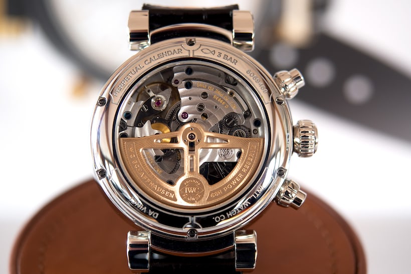 Da Vinci Perpetual Calendar Chronograph movement caliber 89630
