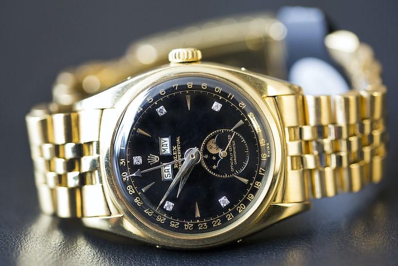 Bao Dai Rolex 6062 dial