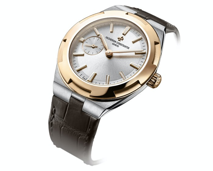 vacheron constantin overseas 37mm two-tone