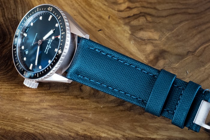 Blancpain Fifty Fathoms Sedna Gold strap