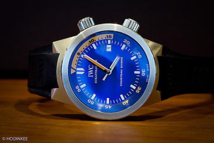 John Mayer IWC Aquatimer Jacques Cousteau