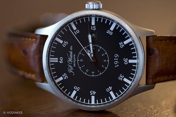 JS Watch Co. Islandus 1919