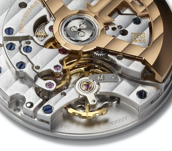 JLC caliber 770 balance bridge