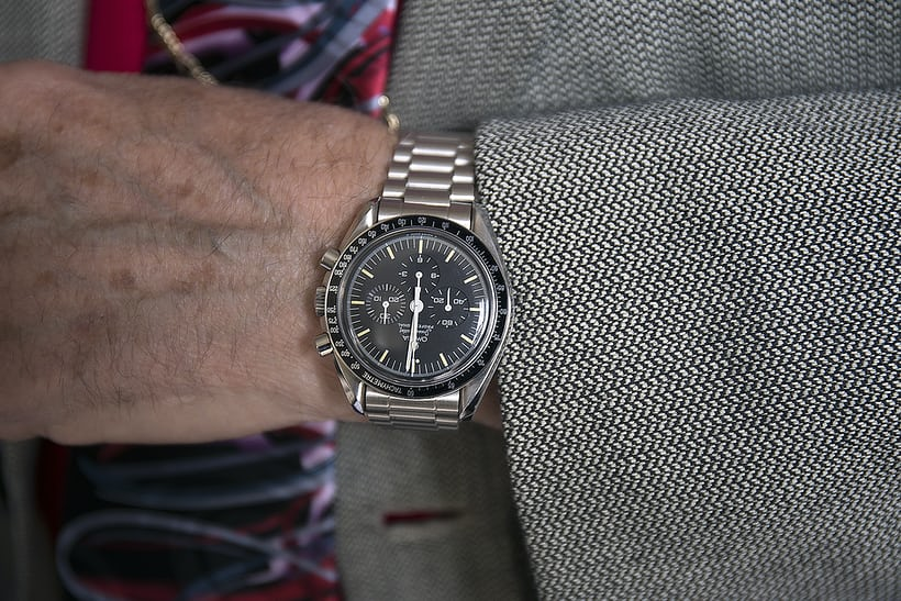 omega speedmaster Ref. 145.022 james ragan