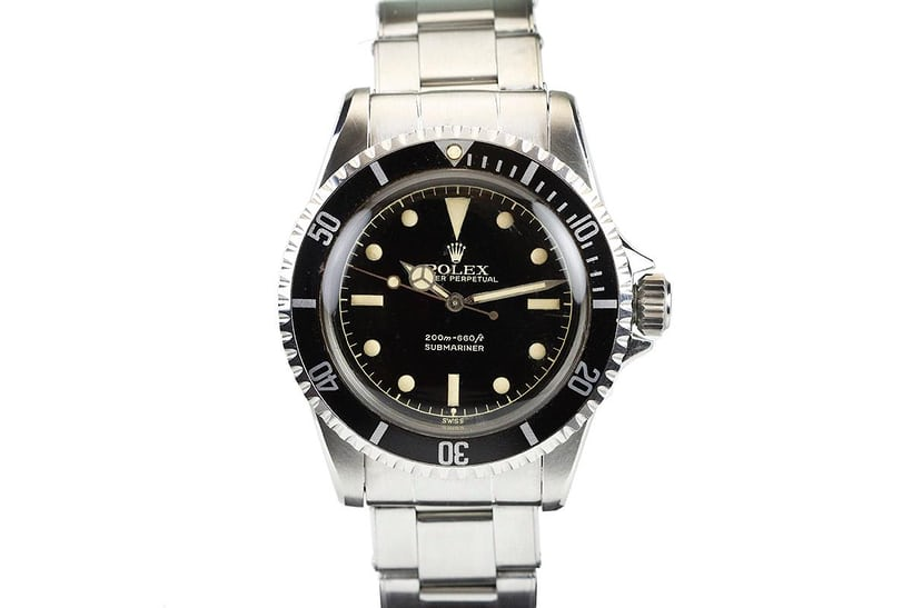 Rolex Submariner Reference 5512