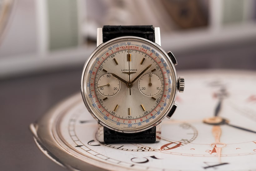 Longines Chronograph reference 7412