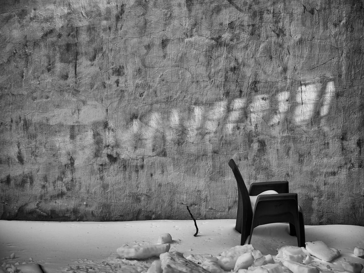 Jack Forster Chair In Winter photograph