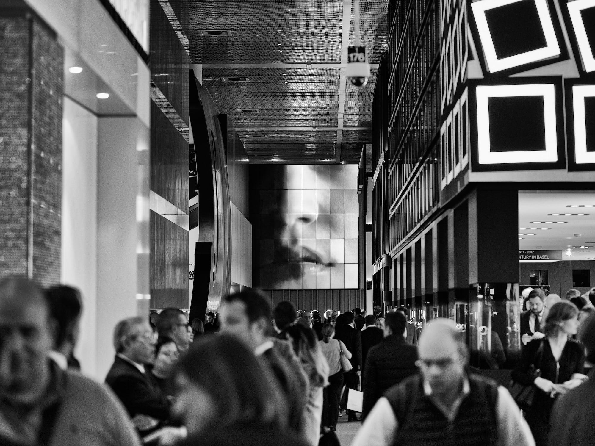 Hall 1, Baselworld 2017.