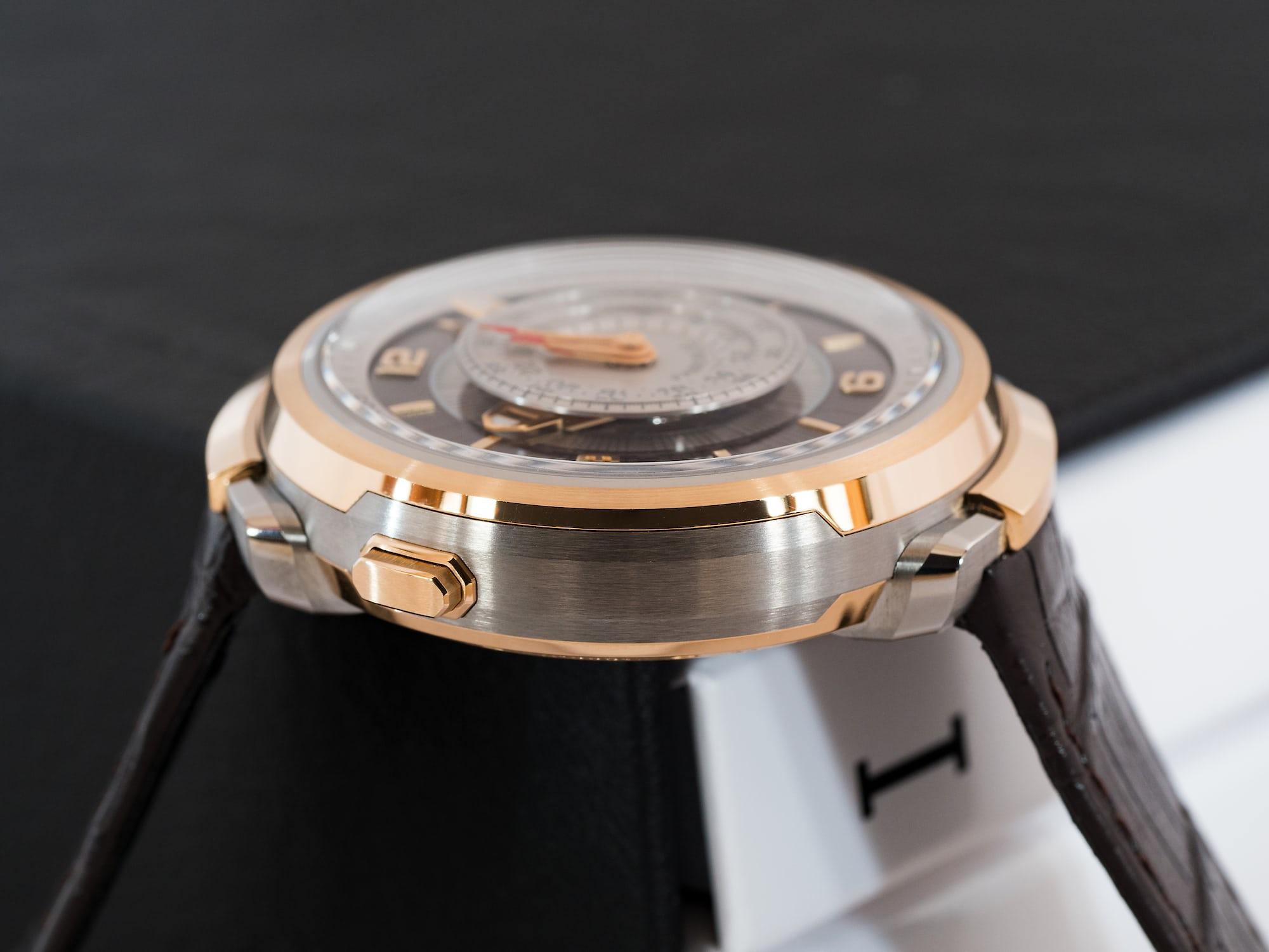 Fabergé Visionnaire Chronograph, case side view