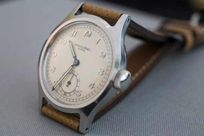 a0aaf218a362 Auction Report  The Patek Philippe Ref. 565 With Breguet Dial For ...