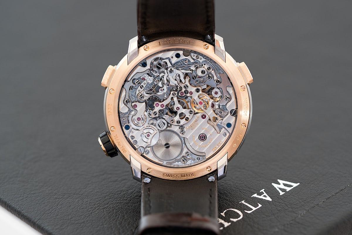 Fabergé Visionnaire Chronograph movement