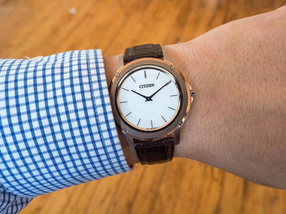 Eco-Drive One wrist shot