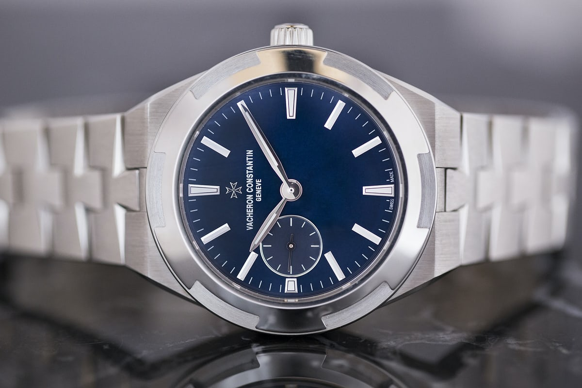 vacheron constantin overseas 37mm blue dial