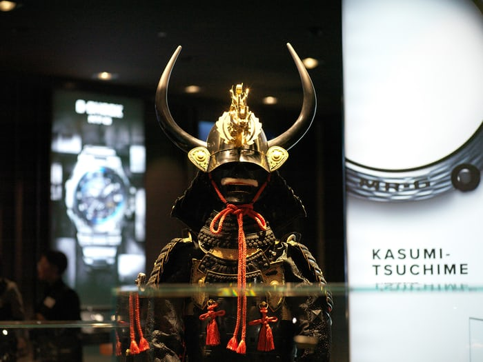 antique armor casio booth baselworld 2017