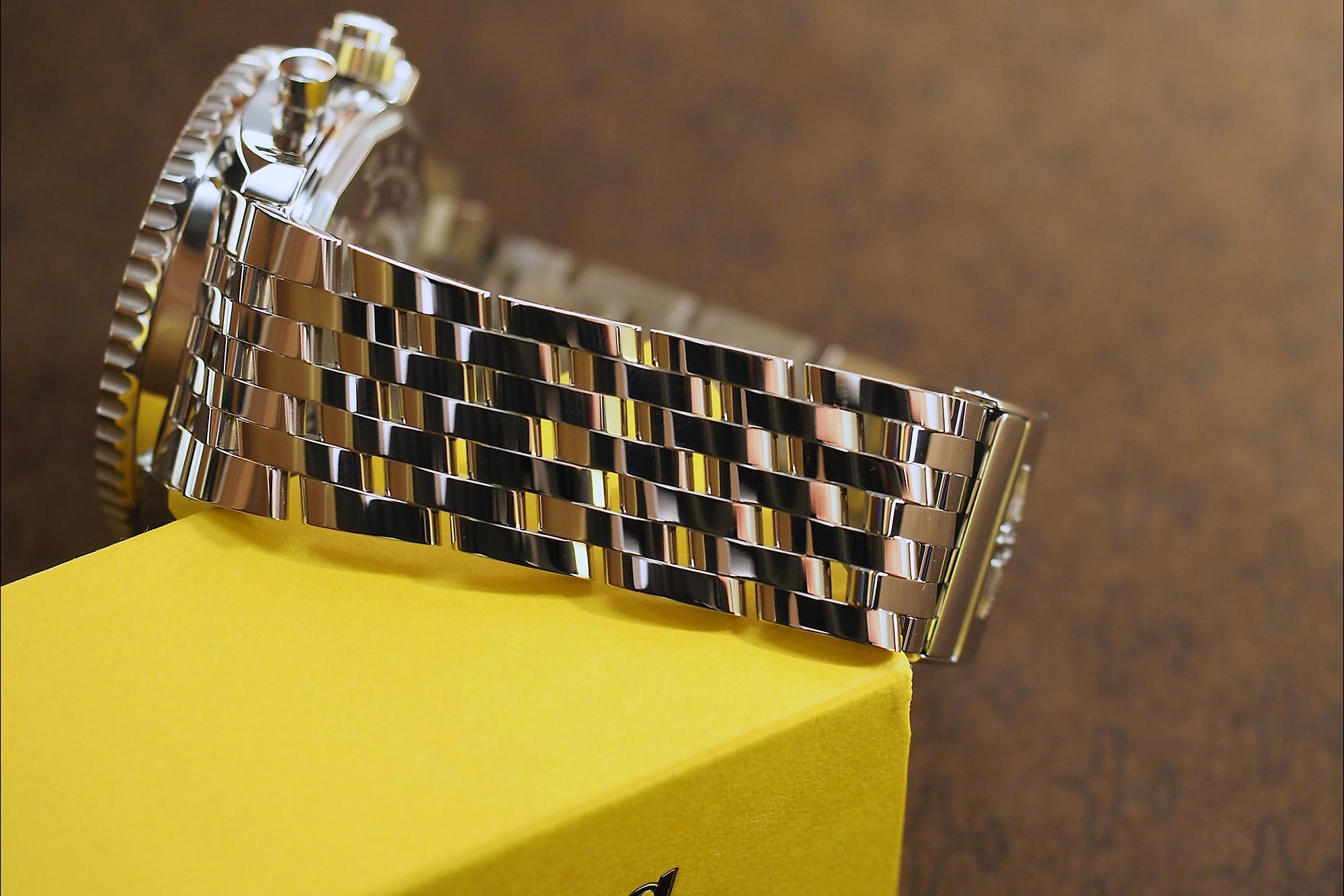 Breitling Navitimer Rattrapante steel bracelet