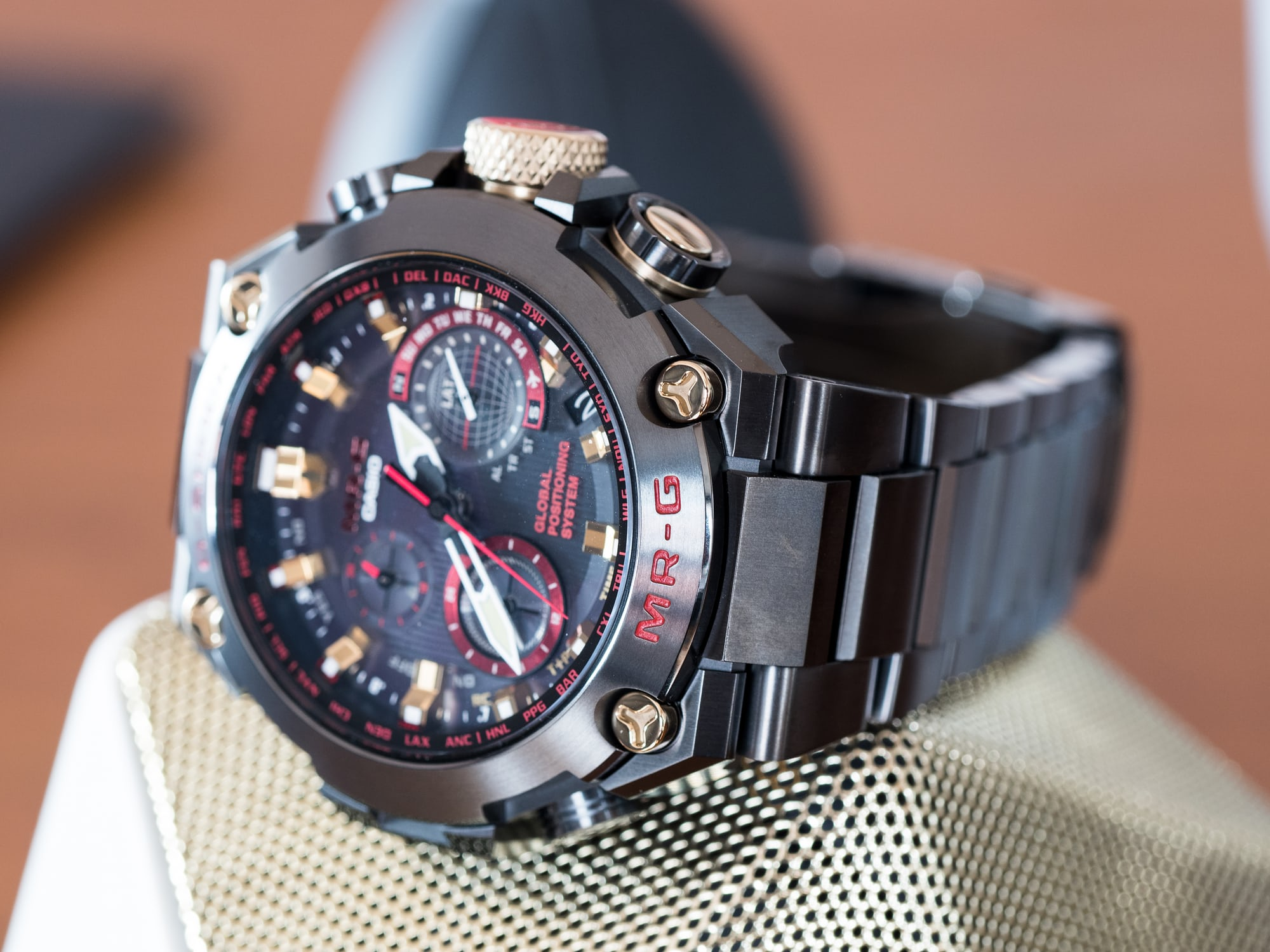 how to change the hands on a g shock watch