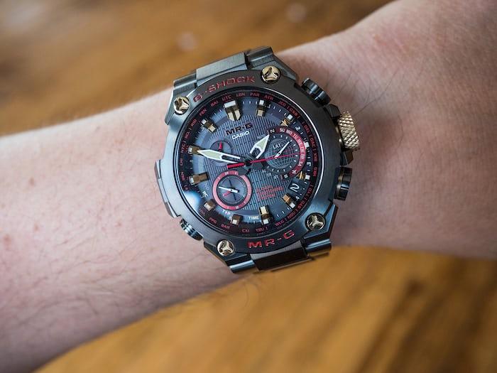 Casio G-Shock MRG-G1000B-1A4 Akazonae wrist shot