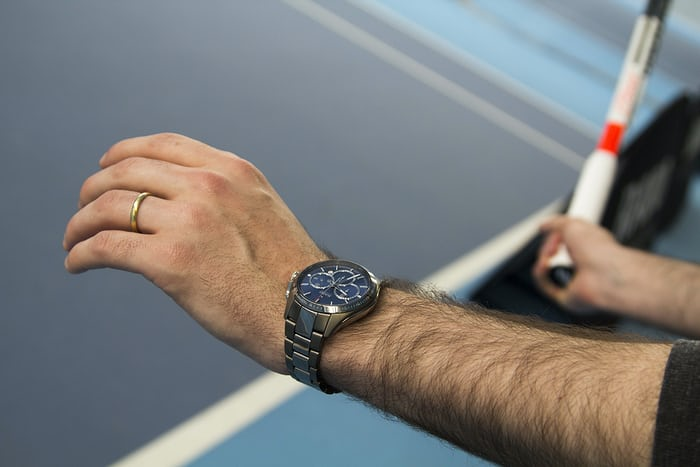 Rado HyperChrome Automatic Chronograph Match Point Limited Edition tennis court