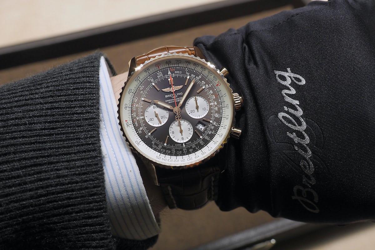 Breitling Navitimer Rattrapante wristshot