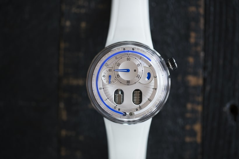 The HYT H0 Silver review.