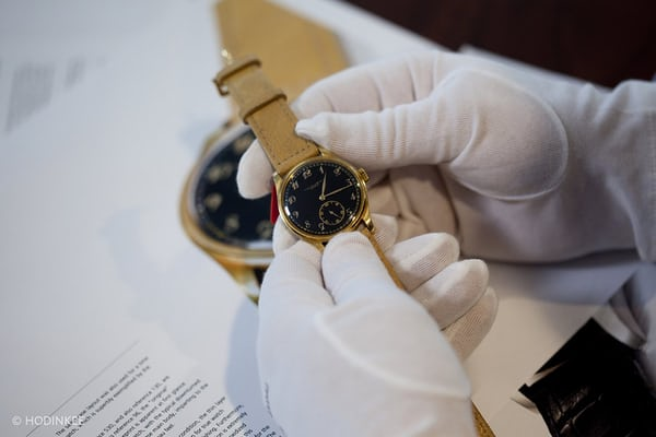 Yellow gold 530 w/ black Breguet dial sold by Christie's for $401,696