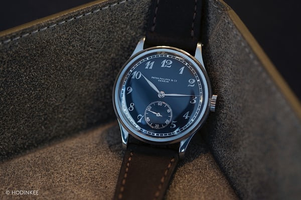 Stainless steel 530 w/ black Breguet dial sold by Phillips for 1,445,000 CHF