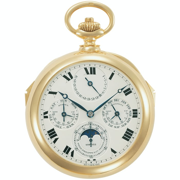 1928 Complicated Pocket Watch Henry Graves patek philippe