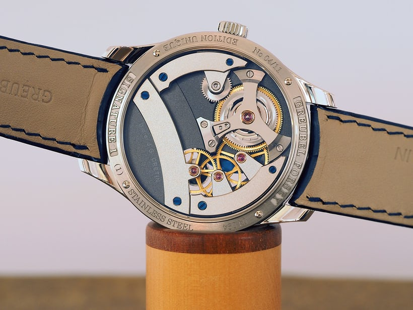 movement side, Greubel Forsey Signature 1