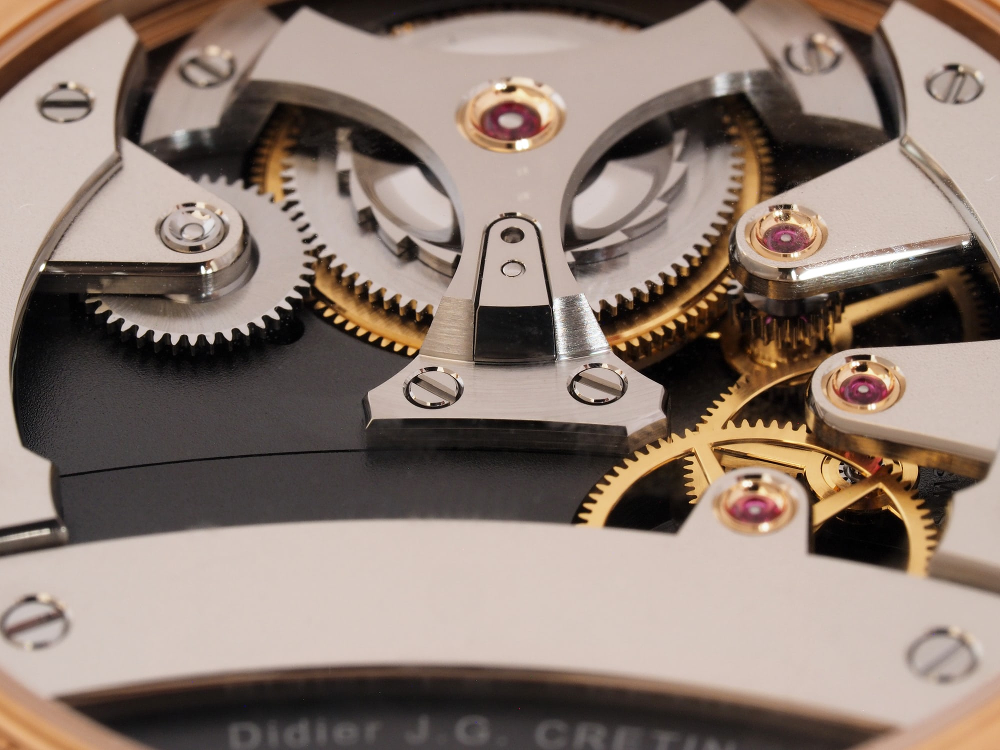 winding and going trains, Greubel Forsey Signature 1