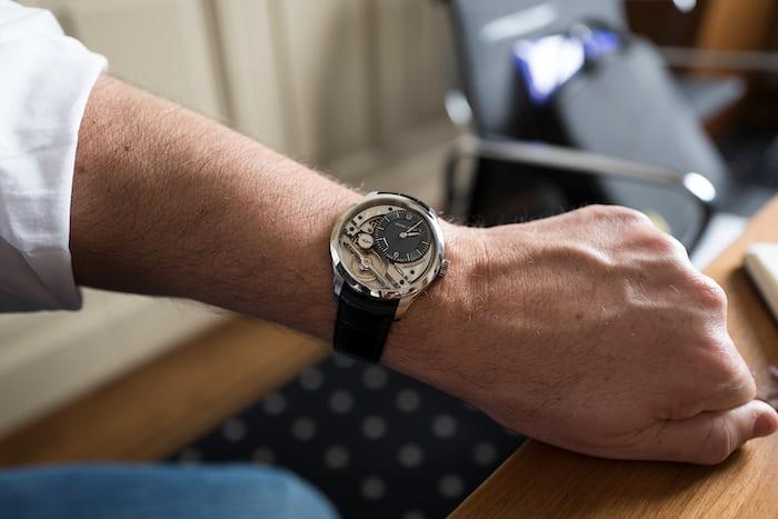 Greubel Forsey Signature 1 wrist shot